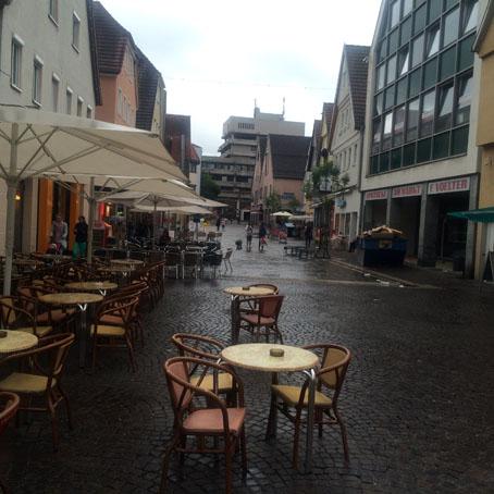 Aalen's pedestrian zone