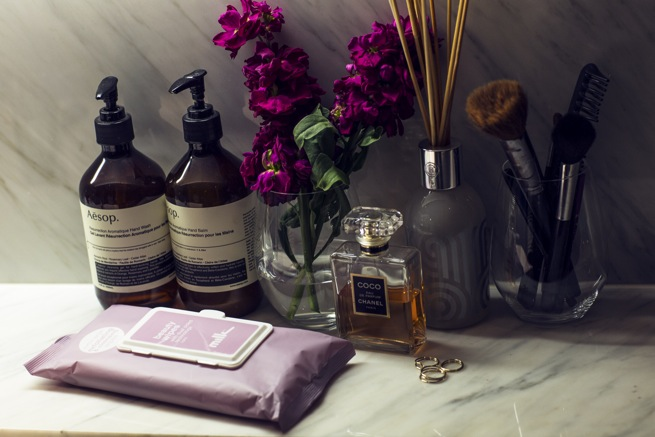 Sink-side joy: Aesop, Milk and Chanel