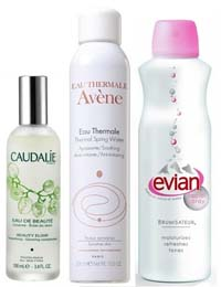 Thermal waters like Avène Thermal Spring Water are French favourites
