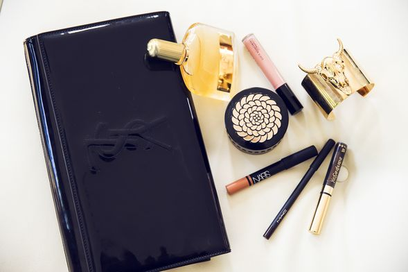 In the YSL clutch: Tom Ford perfume, Guerlain and more MAC