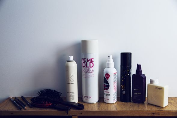 Hair essentials: Kevin Murphy, Eleven Hairspray, Activance and ghd