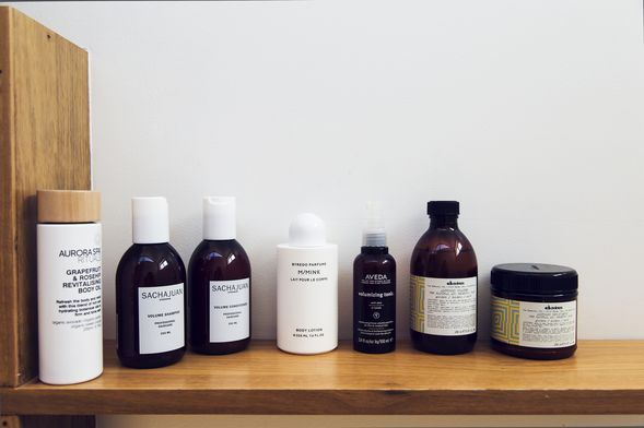 Aurora Spa Rituals, Sachajuan Hair, Byredo, Aveda and Davines