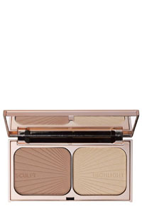 Charlotte Tilbury highlighter sculpting palette