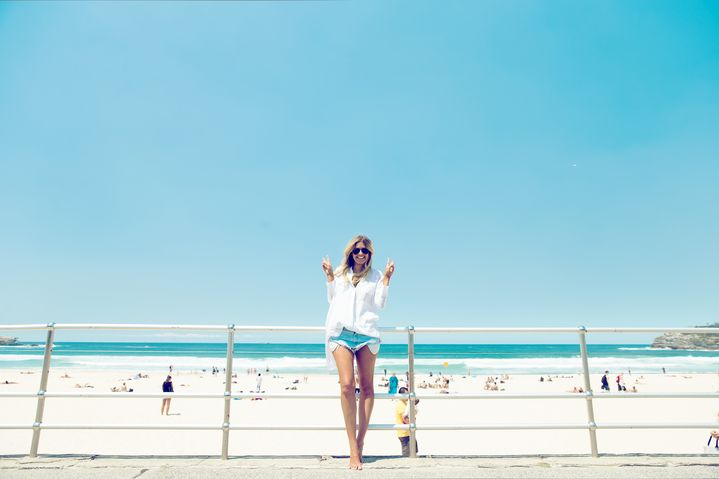 Elle at nearby Bondi beach