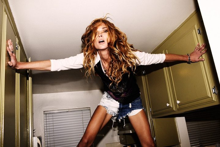 Beauticate loves: Erin Wasson, shot by Ben Sullivan for One Teaspoon