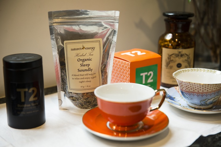 Joss is a tea aficionado, offering every client a special cup from T2 in delicate china teacups.