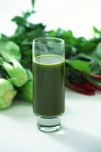 Make greens the basis of your juice.