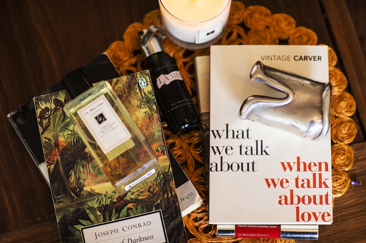 Some light reading and Jo Malone scents