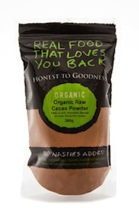 Honest To Goodness Organic Cacao Powder