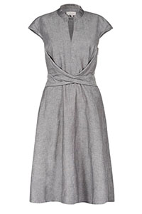 Hobbs Grey Dainty Dress