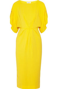 Vionnet Stretch-Crepe Dress
