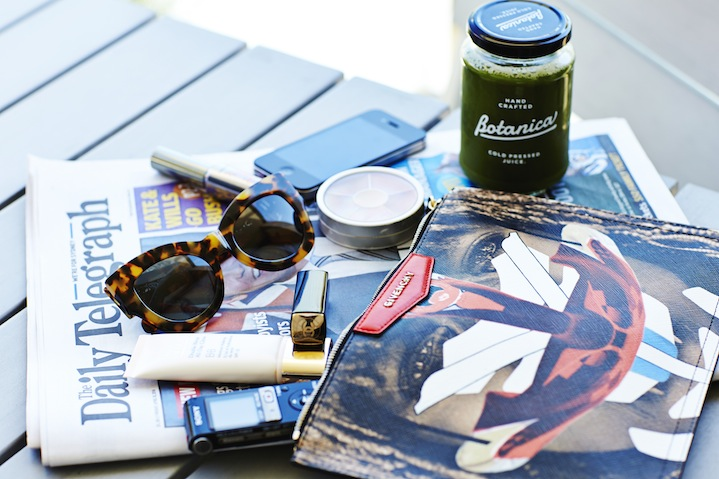 Elle's everyday essentials when on-the-go