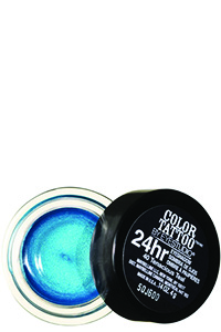 Maybelline Eye Studio Color Tattoo 24HR Cream Gel Shadow   in Tenacious Teal