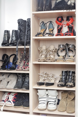 Filomena's shoe loves: Givenchy,  Balmain, Chloe, Alexander Wang and Gucci