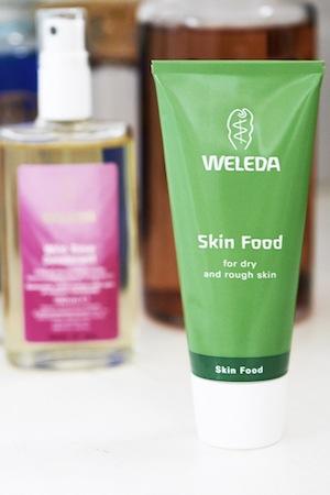 Laura uses Weleda Skin Food to Beat Dehydration