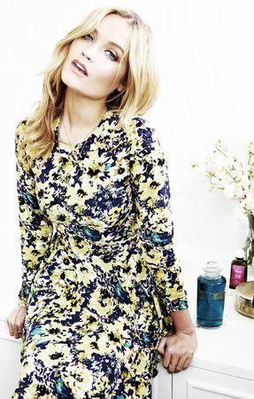 Laura wears dress by  H&M