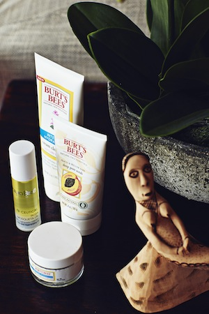 Jessica loves the Burt's Bees skincare range