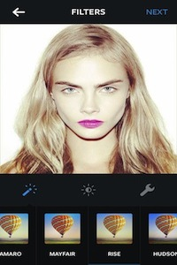 Cara with Rise filter