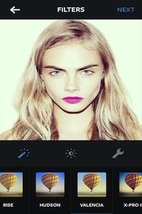 Cara with Valencia filter