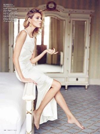 Anja for Vanity Fair Spain