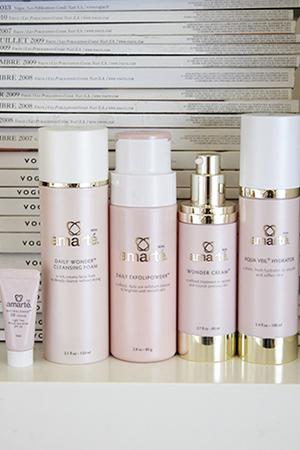 A collection of Elle's favourite Amarte products.