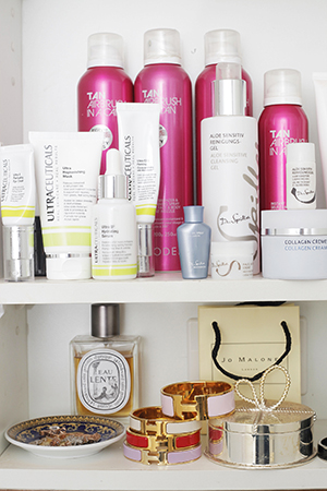 Ultra-Ceuticals take a prime position in Amy's bathroom cupboard