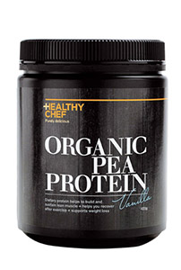The Healthy Chef Organic Pea Protein - Vanilla