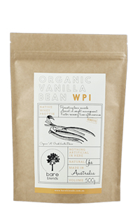 Bare Blends Vanilla Bean WPI Powder
