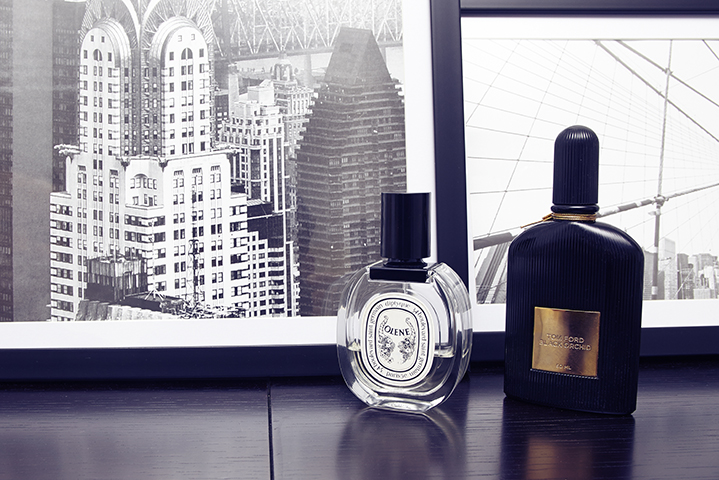 Tom Ford and Diptyque perfumes are among Sally's favourites