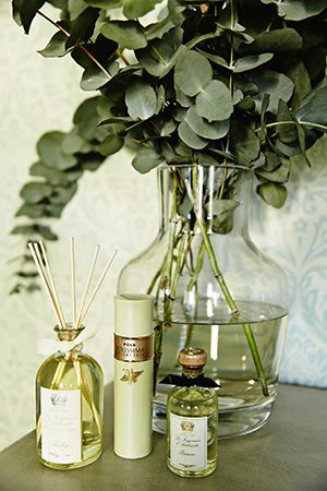 Gum leaves and home fragrances by Antica Farmacista