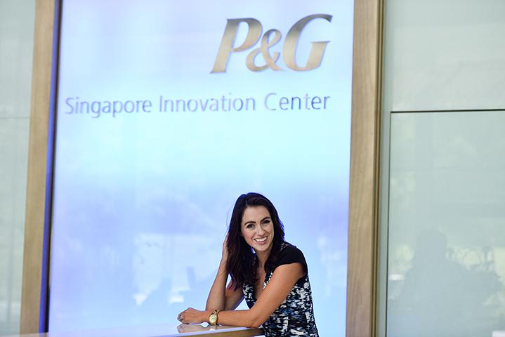 Sigourney at P&G Singapore