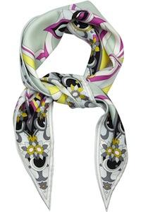 Emilio Pucci's Silk Printed Scarf