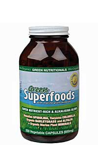 Green Nutritionals Superfoods