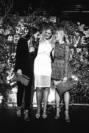 All three girls rockedTony Bianco heels at the Impulse event