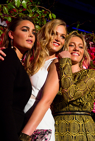 The fantastic trio are the new faces of Impulse