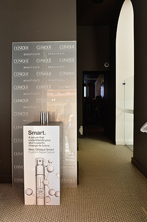 The Smart Serum display