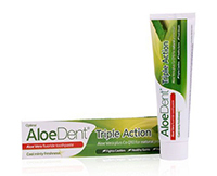 Optima Aloe Dent Triple Action Flouride Toothpaste