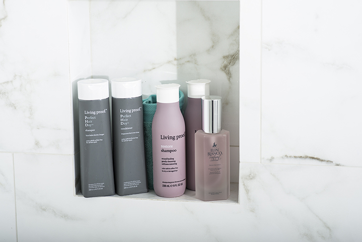 Katrina is a huge advocate of Living Proof's haircare line