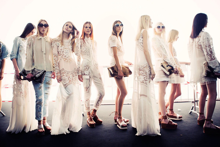 Beauticate loves Roberto Cavalli Spring 2015. Photography by Taylor Jewell.