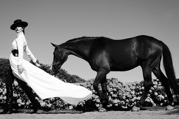 Beauticate loves 'Girl with Black Horse'. Photo by Chris Craymer.