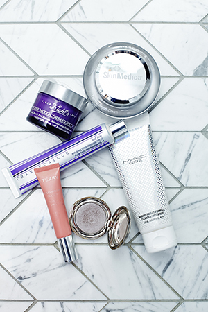 Melanie's love of beauty and beauty products include Chantacaille, Kiehls, Skin Medica