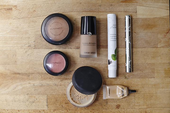 Armani and MAC are make up must haves