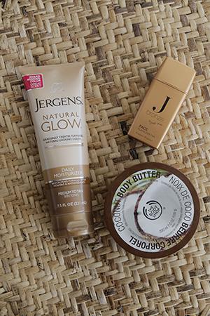 Cheyenne's beauty essentials