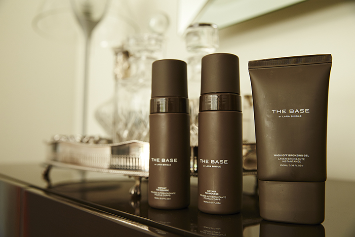 Some of Lara's new products from The Base by Lara Bingle range.