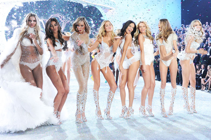Beauticate loves the Victoria's Secret 2013 Fashion Show. Photo by Evan Agostini