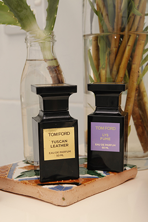 Tom Ford fragrances are amongst Erika's favourite scents.