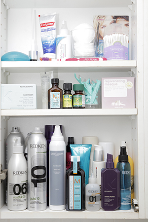 Haircare favourites include Redken, Kevin Murphy and Sachajuan.