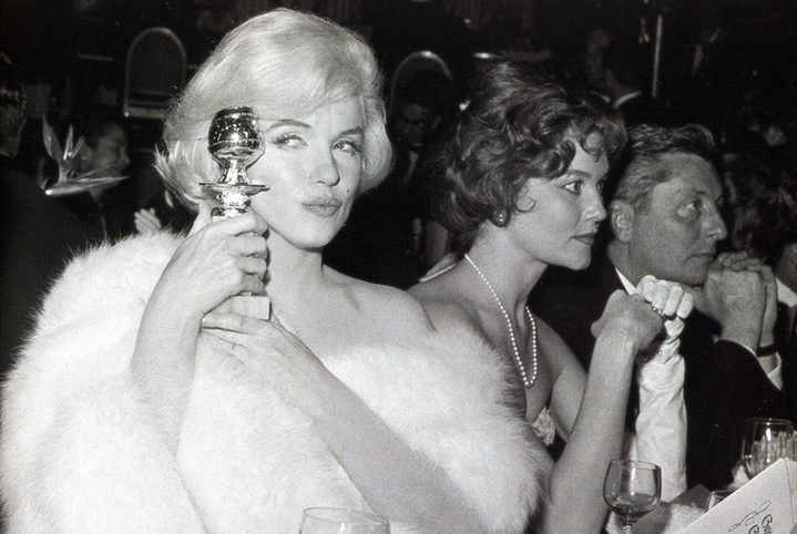 Beauticate loves... Marilyn Monroe at the Golden Globe Awards
