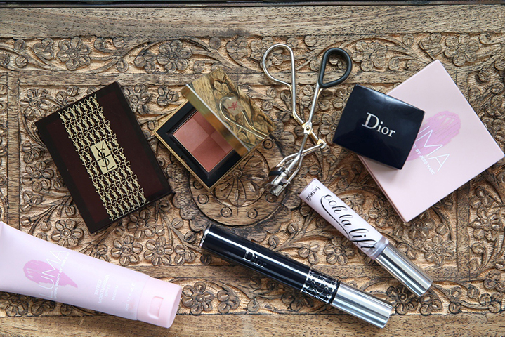 Dior, YSL, Luma and Benefit are all staple brands in Samanthas' makeup bag