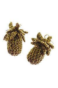 Lucy Folk Ananas Earrings